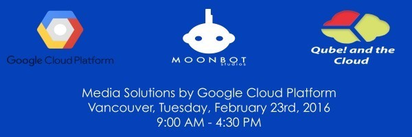 One Day Event – Media Solutions by Google Cloud Platform