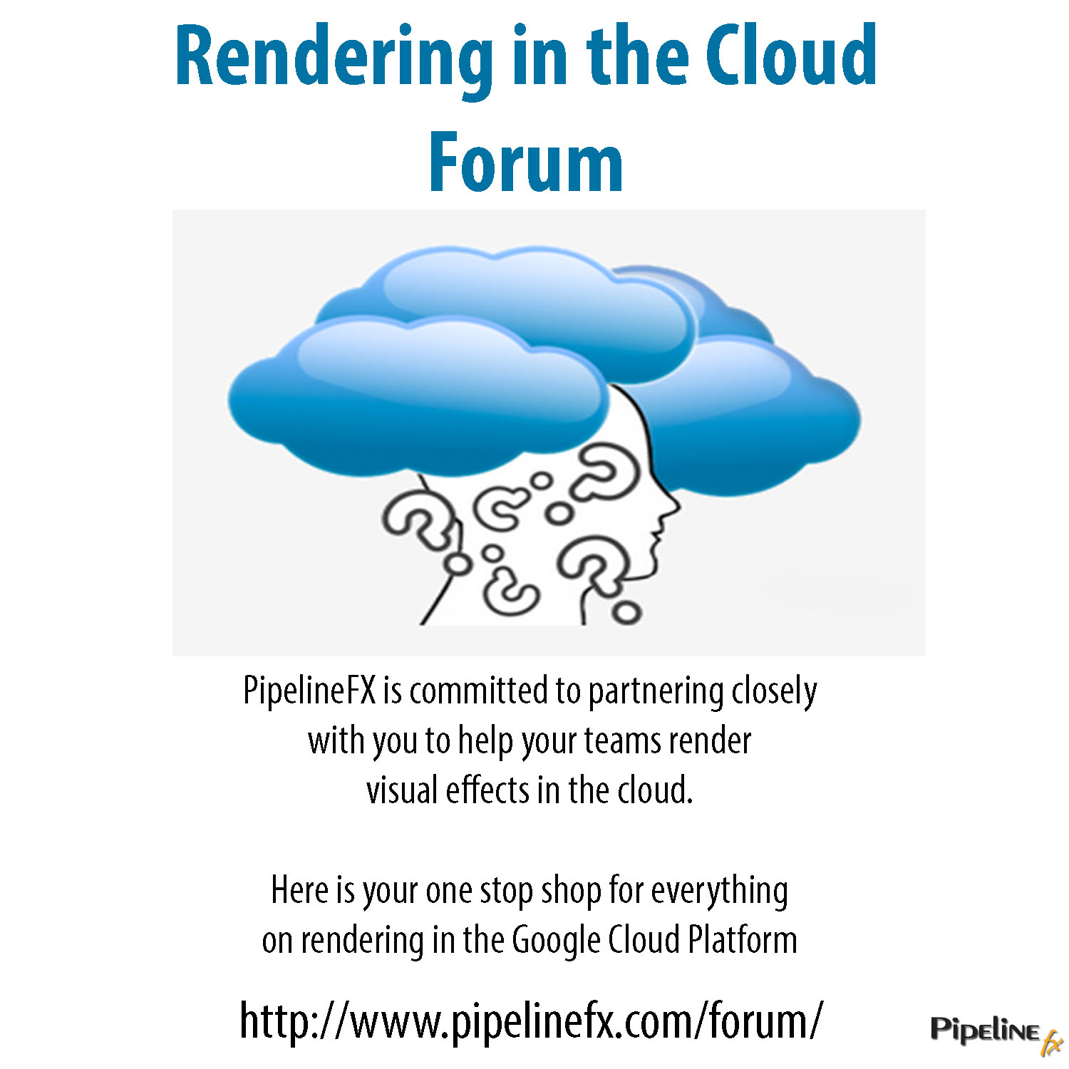 rendering in the cloud forum