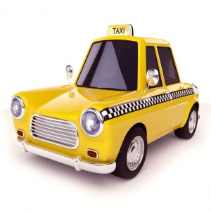 taxi-yellow cab