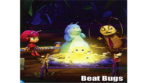 Beat Bugs from Atomic Cartoons, managed by Qube! and Shotgun
