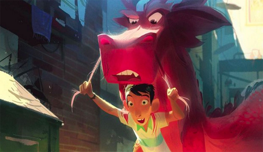 Qube! user, Base FX, Enters Risky Chinese Animated Feature Arena with 'Wish Dragon'