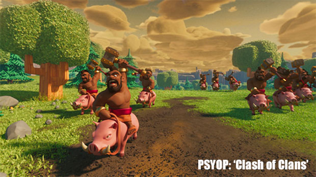 Psyop Pushes 'Clash of Clans' into VR